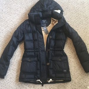 Amercrombie and Fitch puffer jacket